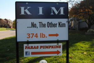 The Other Kim sign