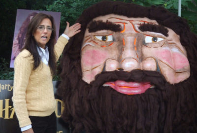 2007 - Hagrid from Harry Potter 701 lb. at the Ohio Governor's residence