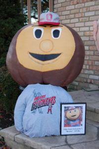 2008 - The Ohio State University's Brutus Buckeye 217 lb.