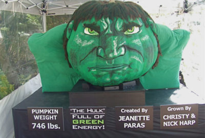 2010 - The Hulk 746 lb. at the Ohio Governor's residence