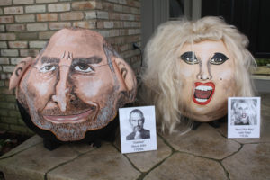 2011 - iCons Steve Jobs 175 lb. and Lady Gaga 170 lb.