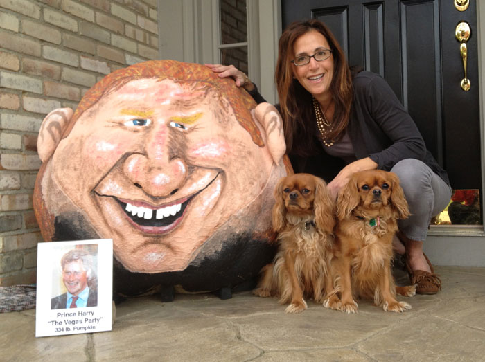 2012 - Naughty Prince Harry Pumpkin - 334 lbs.