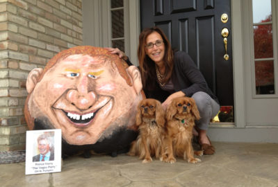 "2012 ""Naughty"" Prince Harry Pumpkin - 334 lbs."