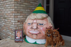 2015 - Buddy the Elf Trumpkin 374 lb. with disguised secret service