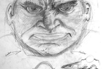Finished Hulk Sketch