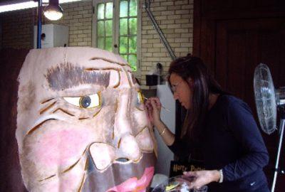 Painting Hagrid