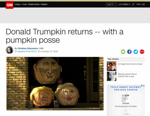 CNN Celebrity Pumpkins