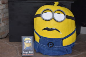 "2017 - Annoyed Minion, 143 lbs., ""Despicable HE"""